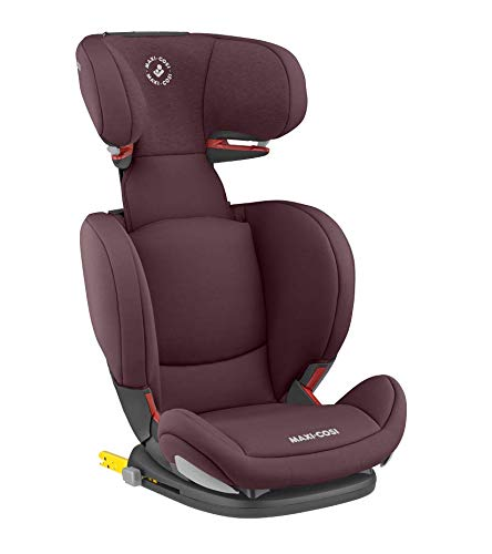 Maxi-Cosi RodiFix AirProtect Child Car Seat, Isofix Booster Seat, Red, 15-36 kg Maxi-Cosi Booster car seat for children from 15-36 kg (3.5 to 12 years) Grows along with your child thanks to the easy headrest and backrest adjustment from the top Patented air protect technology for extra protection of child's head 2