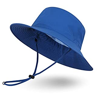 Ami&Li Sunhat Adventure hat - Size M for Adults, Ocean blue