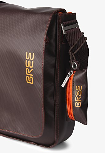 BREE Punch 49   Umhängetasche   LKW-Planen Messenger Bag   blue mocca