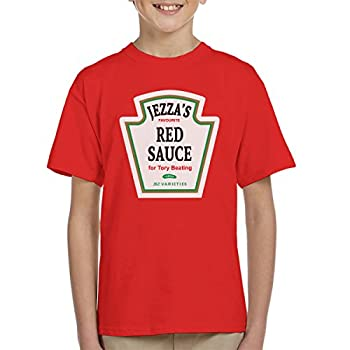 Jeremy Corbyn Jezzas Red Sauce Kid's T-Shirt