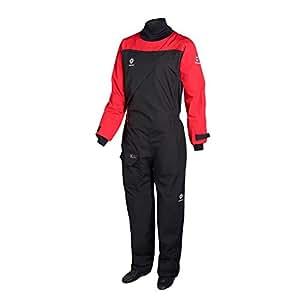 Crewsaver 2018 Atacama Sport Drysuit Front Zip RED/BLACK 6555 Sizes- - Large