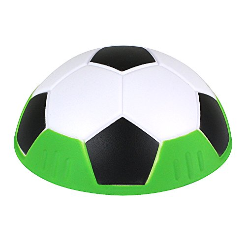 PMS 13106 Slida Ball: Fun Fussball Indoor Hover weicher Schaumstoff Floating mit Glide Basis (schwarz)