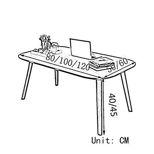 VYN Couchtische Haushalt Moderne Minimalistische Kreative Kleine Tischgröße Optional (60 * 50 Cm),Gelb 120 * 60 cm, -
