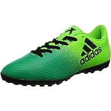 promo code 0d4f1 832d4 adidas X 16.4 TF - Botas de fútbol para Hombre, Verde - (Versol