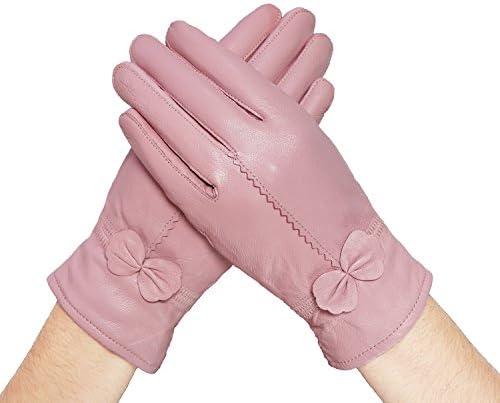 Lifewheel guanti da donna in morbido cashmere, cashmere, cashmere, foderati in nappa di agnello, antivento | Consegna ragionevole e consegna puntuale  | riparazione  c7db44