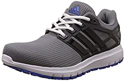 adidas Mens Energy Cloud Wtc M Grey, Cblack and Blue Running Shoes - 7 UK/India (40.67 EU)
