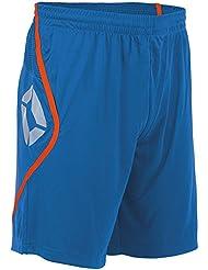 Stanno Pisa Short (sin slip interior)–Blue de Shocking Naranja, multicolor