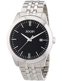 Joop JP101061F06 - Reloj analógico de cuarzo para hombre con correa de acero inoxidable, color plateado