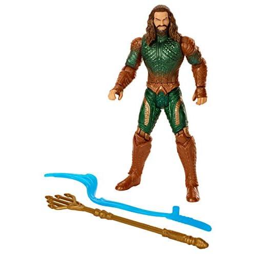 JUSTICE LEAGUE Figura básica Aquaman Core (Mattel FGG67) 4