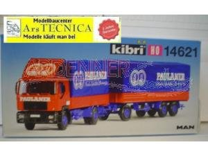 kibri-14621-lkw-man-2-achsig-mit-hnger-paulaner-3-achsig