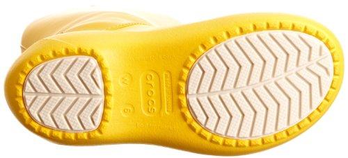 crocs Damen Rainfloe Boot Gummistiefel Gelb (Canary/Canary)