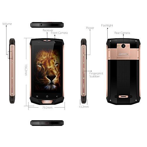 Blackview BV8000 Pro Tel  fonos M  viles IP68 Impermeable 6GB RAM 64GB ROM Octa Core Android 8 0 Smartphone libre  8   16MP C  mara 4180mAh Bater  a 5