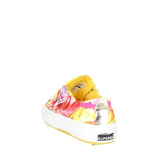 Scarpe Le Superga - 2750-fabricfanplw ESOTICFLOW YELW-PINK