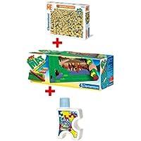 Clementoni 91525.5Minions Puzzle Bundle compuesto de puzzle 31450.8con Matte 30297.0y adhesivo 30300