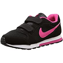 Nike MD Runner 2 (PSV) - Zapatillas Para Niña, Color Negro/Rosa/Blanco