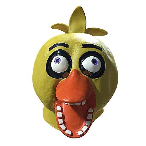 YaPin Neuheit Hässliche Ente Maske Kleine Gelbe Ente Maske Maskerade Nette Latex Headwear Halloween Show Requisiten