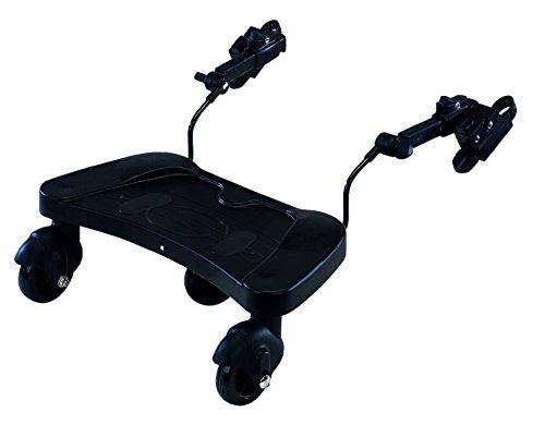 Kiddyboard, Buggyboard, Trittbrett, Mitfahrbrett, Rollbrett für Kinderwagen, Buggy, Jogger bis 25 kg, BABYBLUME