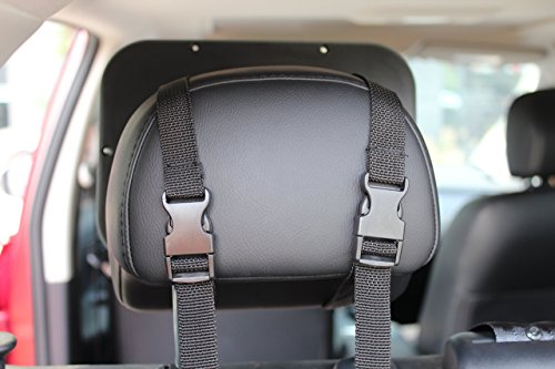 Onco Baby Car Mirror 100% Shatterproof Fully Adjustable Anti-Wobble Fixing Straps Quick Install