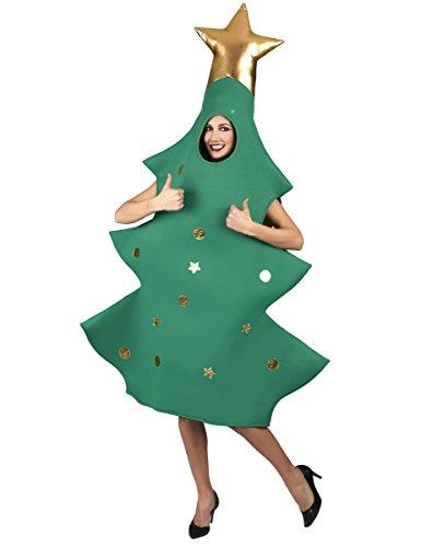 Generique - Costume Albero di Natale 3D per Adulto Taglia UnicaCostume Albero di Natale 3D per Adulto Taglia Unica