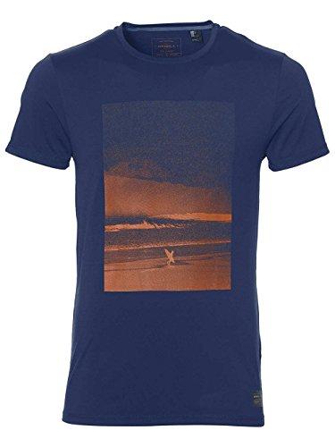 O' Neill–Half Dome Hybrid maglietta Streetwear Shirt & Camicetta blu atlantico