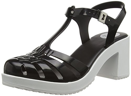 Zaxy Dream Heel, Escarpins femme Noir (Black/White)