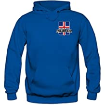 Shirt Happenz Island WM 2018#5 Kapuzenpullover | Fußball | Herren | Strákarnir okkar | Trikot | Nationalmannschaft