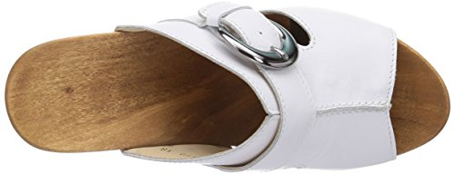 Woody Mary, Chaussures de Claquettes femme Blanc - Blanc