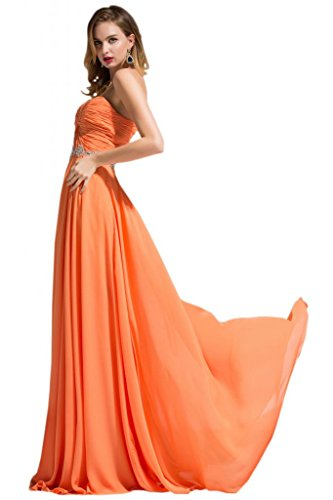 Sunvary Lovely Girl Organza senza spalline una linea Party Homecoming vestiti Argento