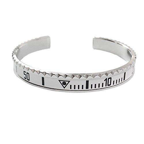 Preisvergleich Produktbild Lünetten Armband im Yacht-Style weiß von OFFICIAL GENEVA