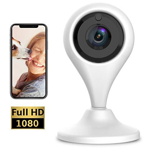 Keyke Cámara Vigilancia Wifi 1080p, Cámara IP Interior, Sistema de  Vigilancia, Visión Nocturna, Alertas de Movimiento, Audio Bidireccional  Servicio