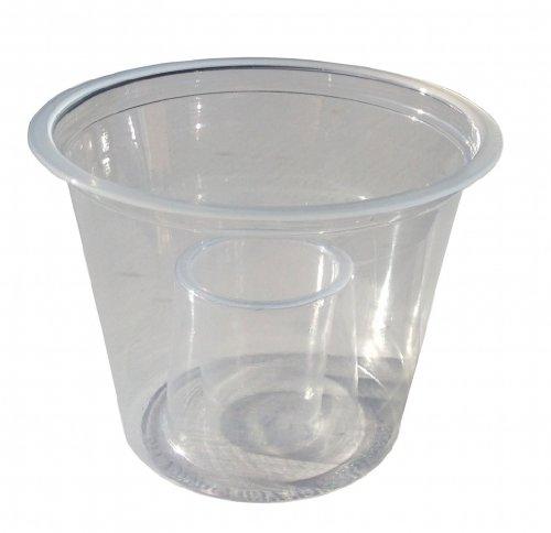 ischdeckchen - 500 x Bomb Shots klar CE Polystyrol Cups Einweggläser Drinking Mischpulte & zum Vorwärmen Ideal für rote Bulle & Jagerbomb Jägermeister - 60 ml/25 ml (Jager Bomb Cups)