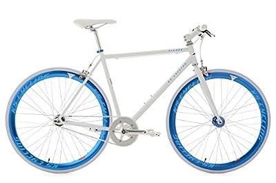 KS Cycling Fitnessbike Pegado RH 56 cm Fahrrad, Weiß-Blau, 28