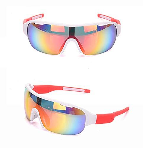 WDDP Polarisierte Sport-Sonnenbrille (Zwei Gruppen Von UV400-Schutzgläsern) Für Männer, Frauen Beim Radfahren, Angeln, Laufen Und Bei Outdoor-Aktivitäten,B