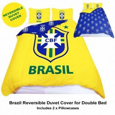 Brasilien Queen Size Tröster Bezug & Kopfkissen Bettwäsche Set