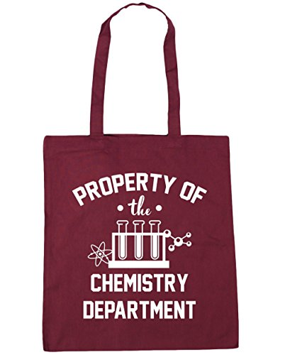 HippoWarehouse Property Of The Chemistry Department Tote Shopping Gym Beach Bag 42cm x38cm, 10 litres