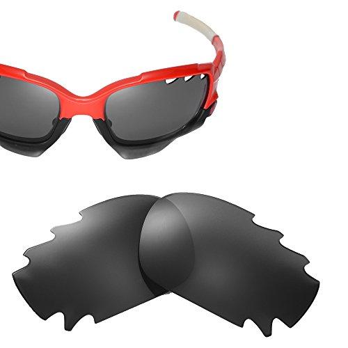 Cofery Ersatzgläser für Oakley Jawbone Sonnenbrillen, Verschiedene Optionen erhältlich, Unisex, Black - Polarized, Einheitsgröße