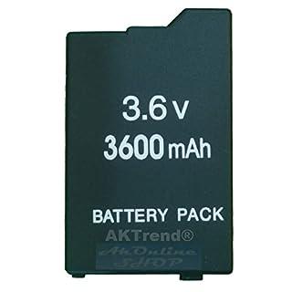 aktrend - Original Ersatz Power Akku 3600mAh für PSP Slim&Lite 2000 3000 2004 3004 (Neu) - PSP AKPSP-02