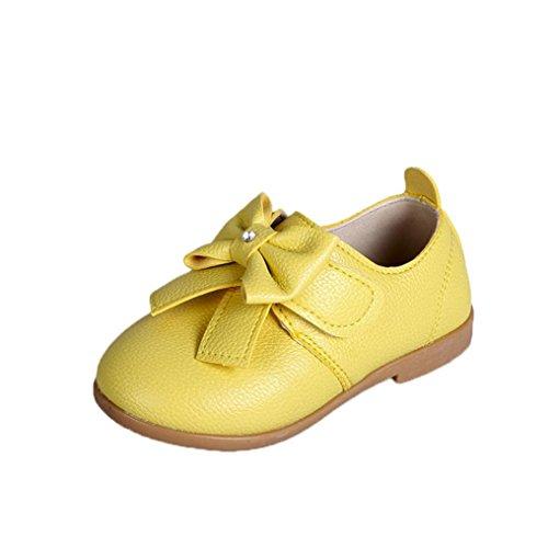 Chaussures Bébé,Xinan Chaussures Garçon Fille Cuir Souple Automne Chaussures Mode 3 Couleurs