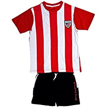 ATHLETIC CLUB BILBAO - Pijama, Color Rojo, Blanco Y Negro, Talla 14