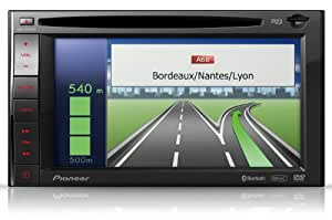 Pioneer AVIC-F920BT DVD-Mediacenter mit Multisensor-Navigation (SD-Kartenslot, Apple iPod/iPhone-Anschluss USB 2.0)
