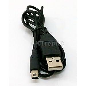 Original AKTrend® USB Ladekabel für Nintendo DSi / 3DS / 3DS XL / DSi / DSi XL / NDSi , Nintendo 3DS / 3DS XL / 3DSi / DSi / DSi XL – Ladekabel Datenkabel Ladegerät , Power Supply Adapter Für Nintendo