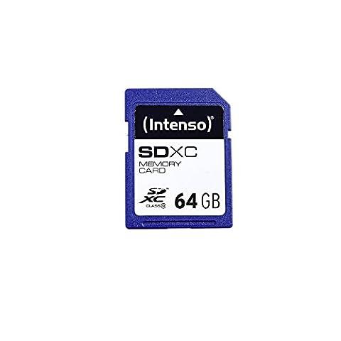 Intenso SDXC 64GB Class 10 Speicherkarte