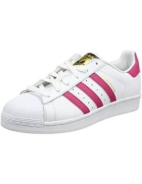 Adidas Superstar Foundation J, Zapatillas de Baloncesto Unisex Niños