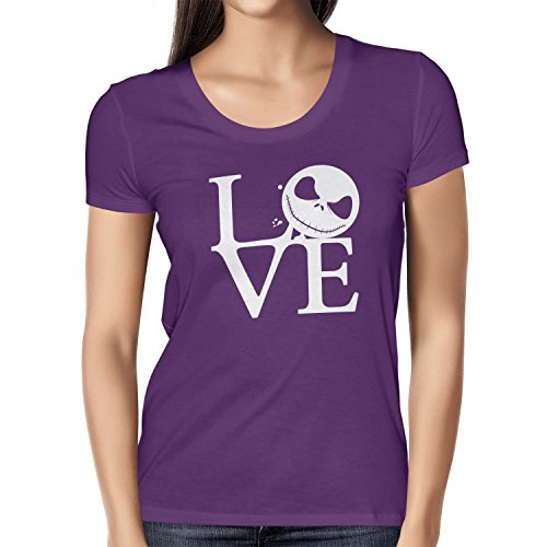 TEXLAB - Nightmare Love - Damen T-Shirt, Größe M, violett