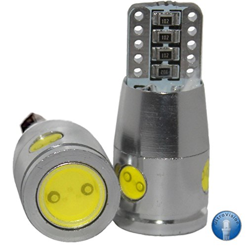 4 SMD T10 501 W5W Motorhome/Caravan Bulbs, 12 V, 8 W, Pack of 2