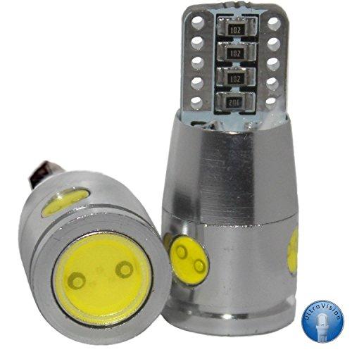 4 SMD T10 501 W5W Motorhome / Caravan Bulbs , 12 V, 8 W, Pack of 2