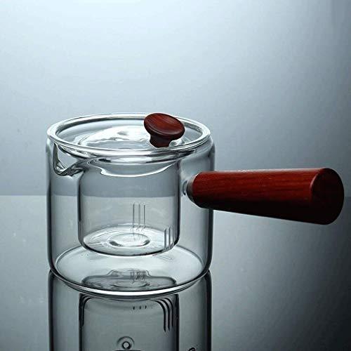 WYJW Tee Herd Keramik Glas Tee Wasserkocher Wasserkocher mit Tee Tee Leckage 300ml (Farbe: A)