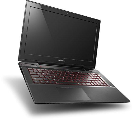 Lenovo Y50-70 39,6 cm (15,6 Zoll FHD IPS) Laptop (Intel Core i7-4710HQ, 2,5 GHz, 16GB RAM, 256GB SSD, NVIDIA GeForce GTX 860M/4GB, kein Betriebssystem) schwarz