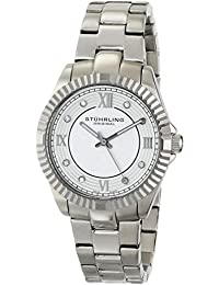 Stuhrling Original 399L.22112 - Reloj de pulsera mujer, acero inoxidable, color plateado