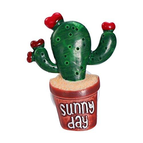Vorcool - deodorante per ambienti, a forma di cactus, con clip, decorativo, per auto
